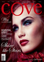 Cove Magazine cover and article