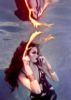 Beth Mitchell Underwater Fashion Editorial